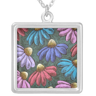 Half Flowers Necklace