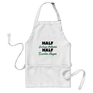 Half Garbage Collector Half Zombie Slayer Aprons
