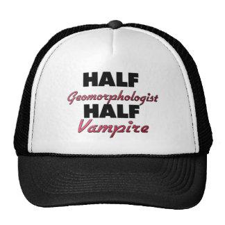 Half Geomorphologist Half Vampire Mesh Hat