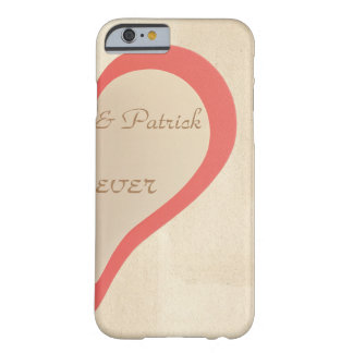 Half heart Lover two Barely There iPhone 6 Case