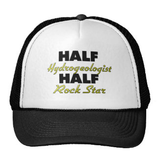 Half Hydrogeologist Half Rock Star Mesh Hat