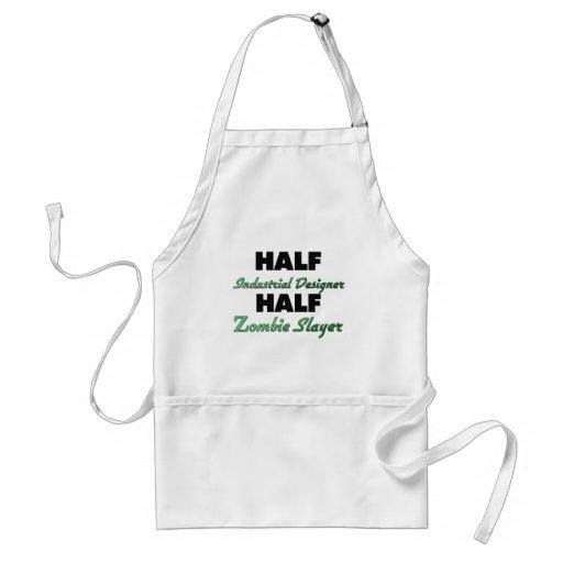 Half Industrial Designer Half Zombie Slayer Apron