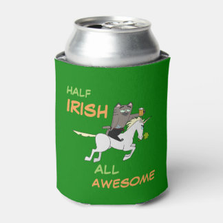 Half Irish All Awesome! St. Patrick's Day Can Cooler