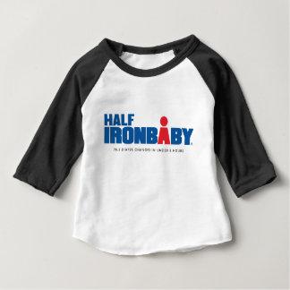 Half Iron Baby 3/4 Sleeve T-Shirt