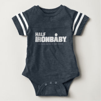 Half Iron Baby Sport Bodysuit