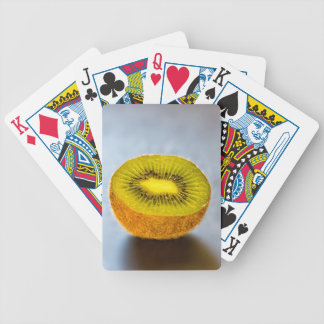 half Kiwi on the table Bicycle Playing Cards