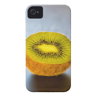 half Kiwi on the table iPhone 4 Case