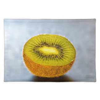 half Kiwi on the table Placemat