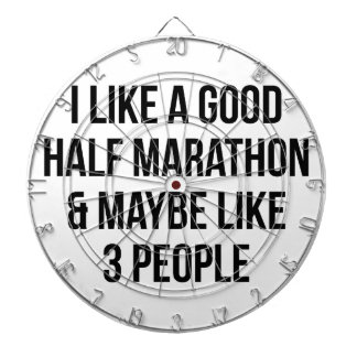 Half Marathon & 3 People Dartboard