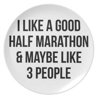 Half Marathon & 3 People Plate