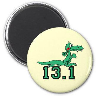 Half marathon gator magnet
