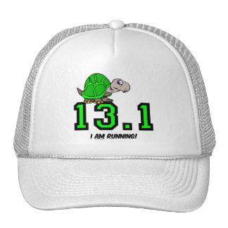 Half marathon mesh hats