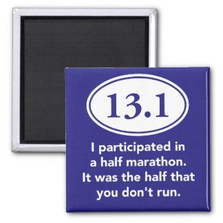 Half Marathon magnet