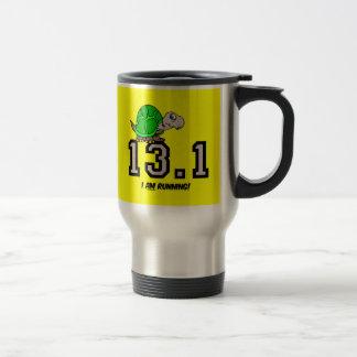 Half marathon coffee mug