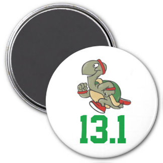 Half Marathon Turtle Magnet