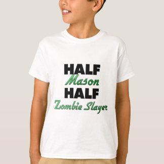 Half Mason Half Zombie Slayer T-Shirt