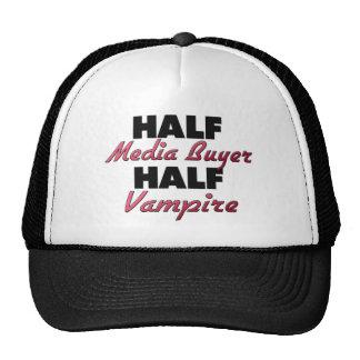 Half Media Buyer Half Vampire Trucker Hat