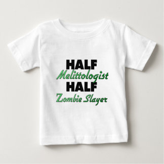 Half Melittologist Half Zombie Slayer T-shirts