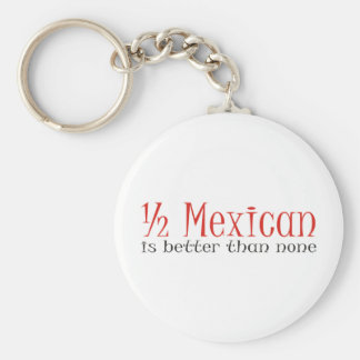 Half Mexican Key Ring