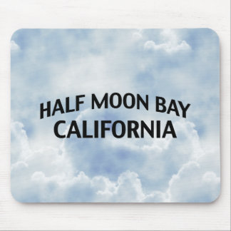 Half Moon Bay California Mousepads