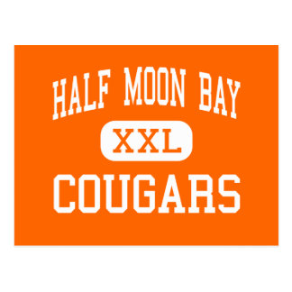 Half Moon Bay - Cougars - High - Half Moon Bay Postcard