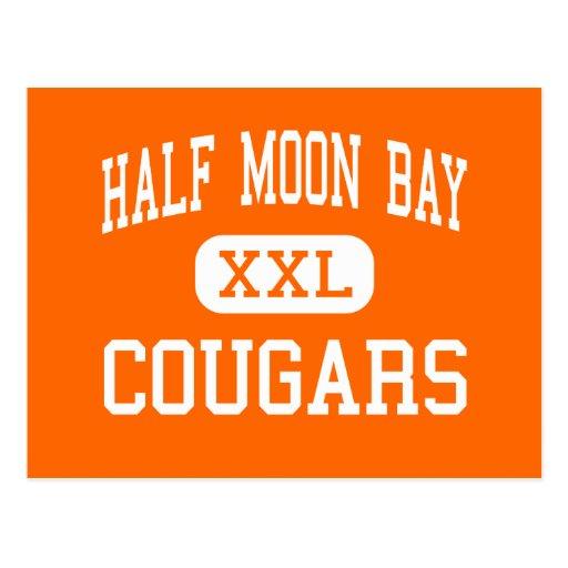Half Moon Bay - Cougars - High - Half Moon Bay Postcards