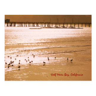 Half Moon Bay Postcard