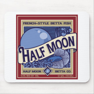 Half Moon Betta Mouse Pad