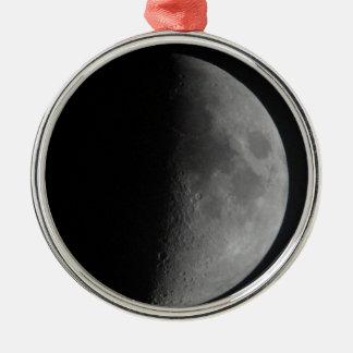 Half-Moon Metal Ornament