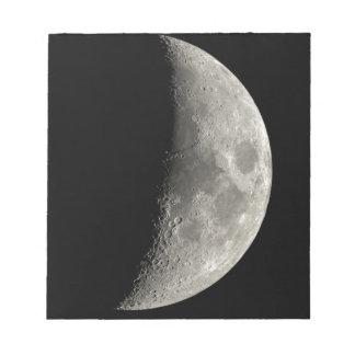 Half Moon Notepad