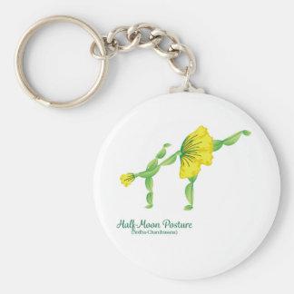 (Half-Moon Posture) Keychain