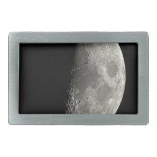 Half Moon Rectangular Belt Buckle