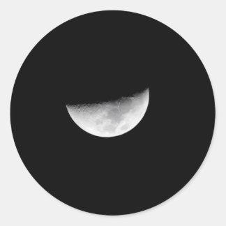 Half Moon Stickers
