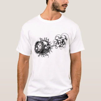 half moon, sun and wind T-Shirt