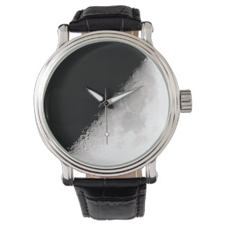 Half-moon Wrist Watch