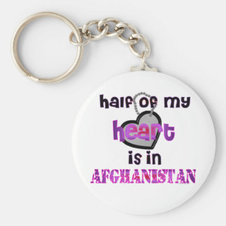 HALF MY HEART AFGHANISTAN KEY RING