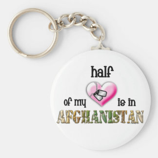 half of my heart...afghanistan 2 key ring