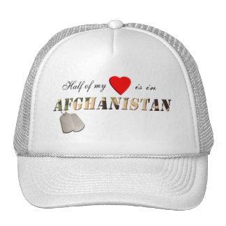 Half of my Heart is in Afghanistan Hat