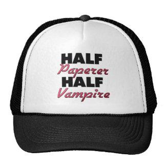 Half Paperer Half Vampire Mesh Hats