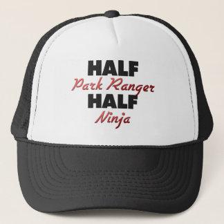 Half Park Ranger Half Ninja Trucker Hat