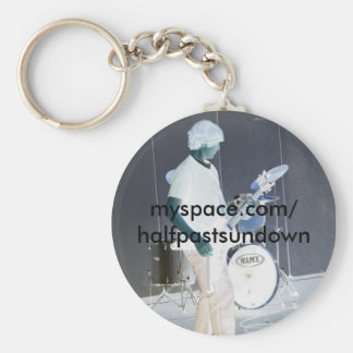 Half past Sundown Keychain