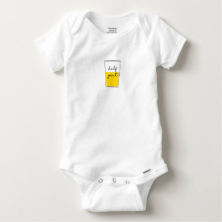 Half Pint Baby Onesie