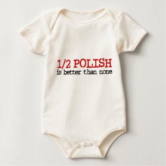 Half Polish Baby Bodysuit