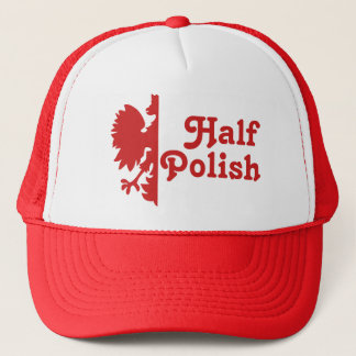 Half Polish Trucker Hat