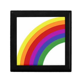 Half Rainbow Small Square Gift Box
