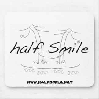 Half Smile Logo.hi res, www.halfsmile.net Mousepads