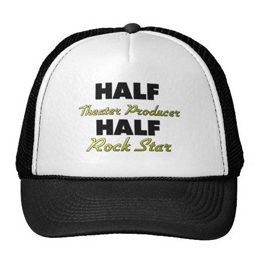 Half Theater Producer Half Rock Star Mesh Hats