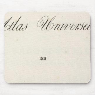 Half Title Atlas universel Asia Mousepads