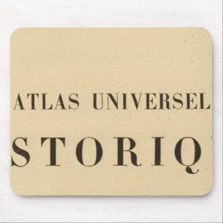 Half Title Atlas universel historique Mouse Pad