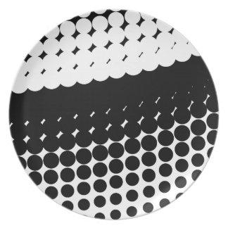 Half Tone Curve Plate